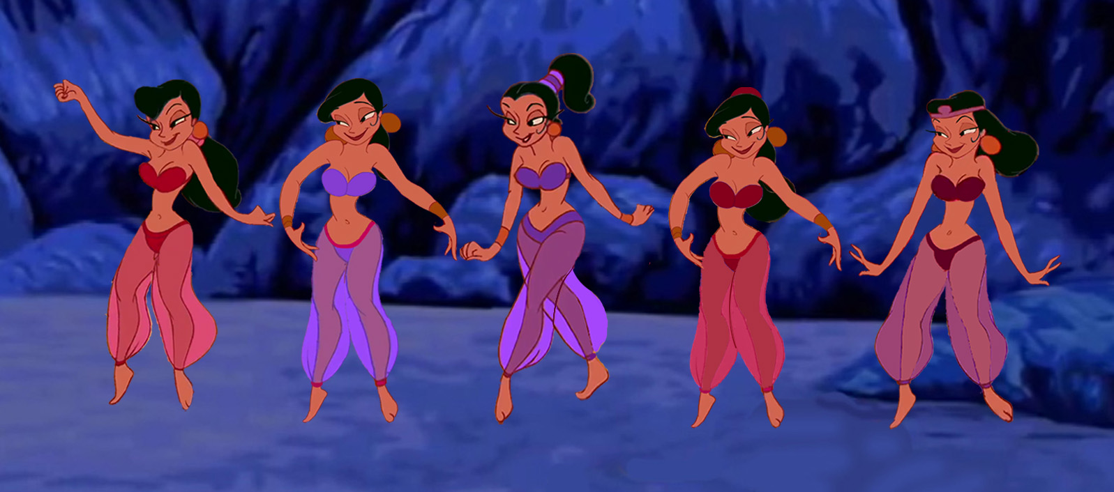 Genie's Belly Dancers