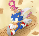 Sonic and the secret rings 10th anniversary by karneolienne dazwbem-fullview