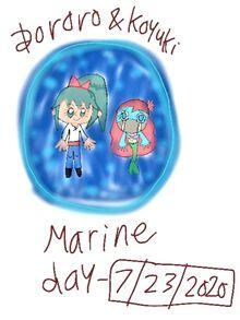 2019 Dororo & Koyuki - Marine Day 2020 Japan.jpg