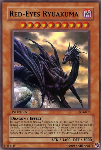 Yu-Gi-Oh! The Legend of the Dragon King Booster Pack