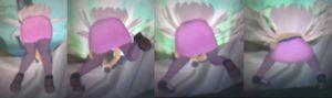 Senran Kagura 2 Yomi (Sexy Sweeter) Action Back View