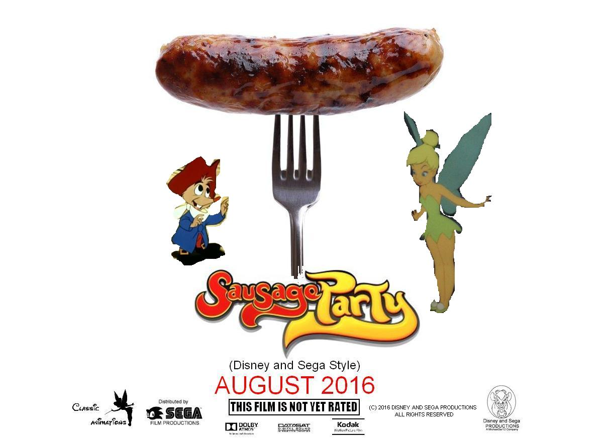 Sausage Party (Disney and Sega Style)