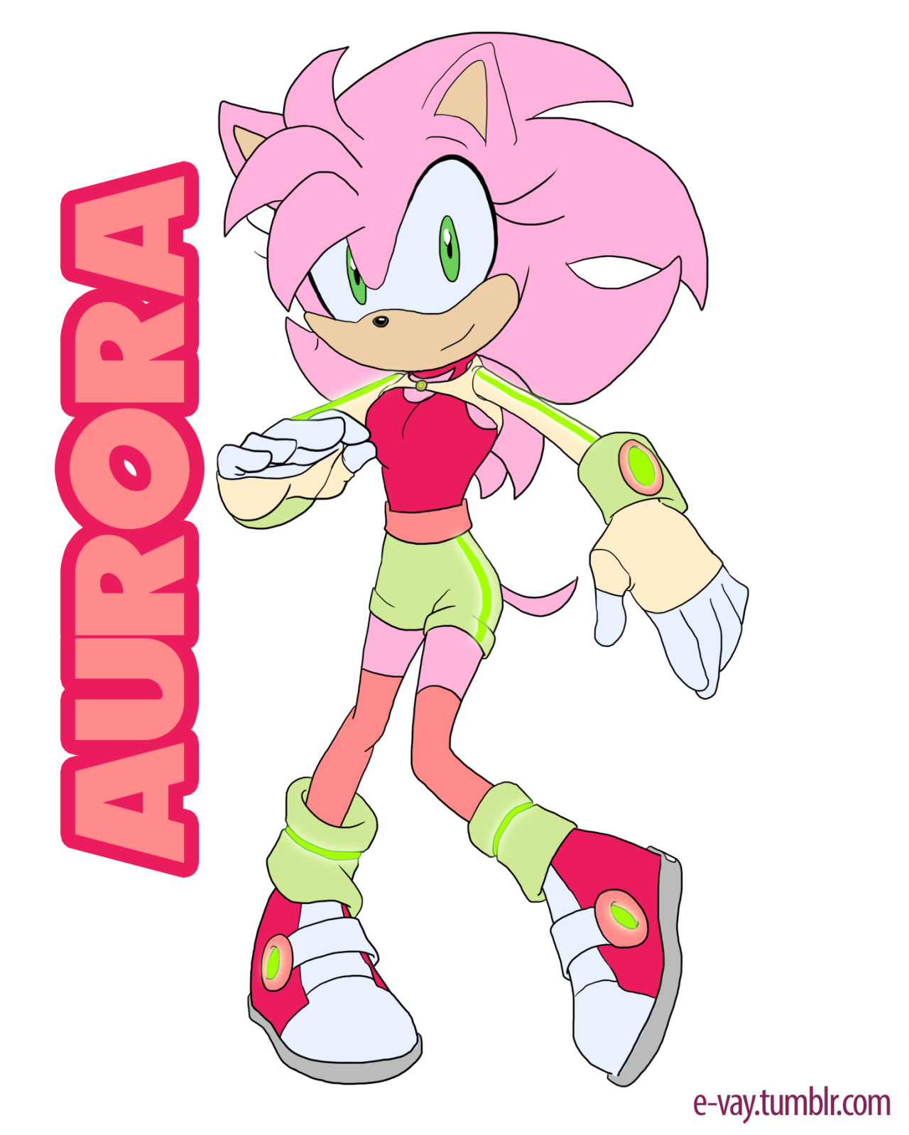 Aurora the Hedgehog