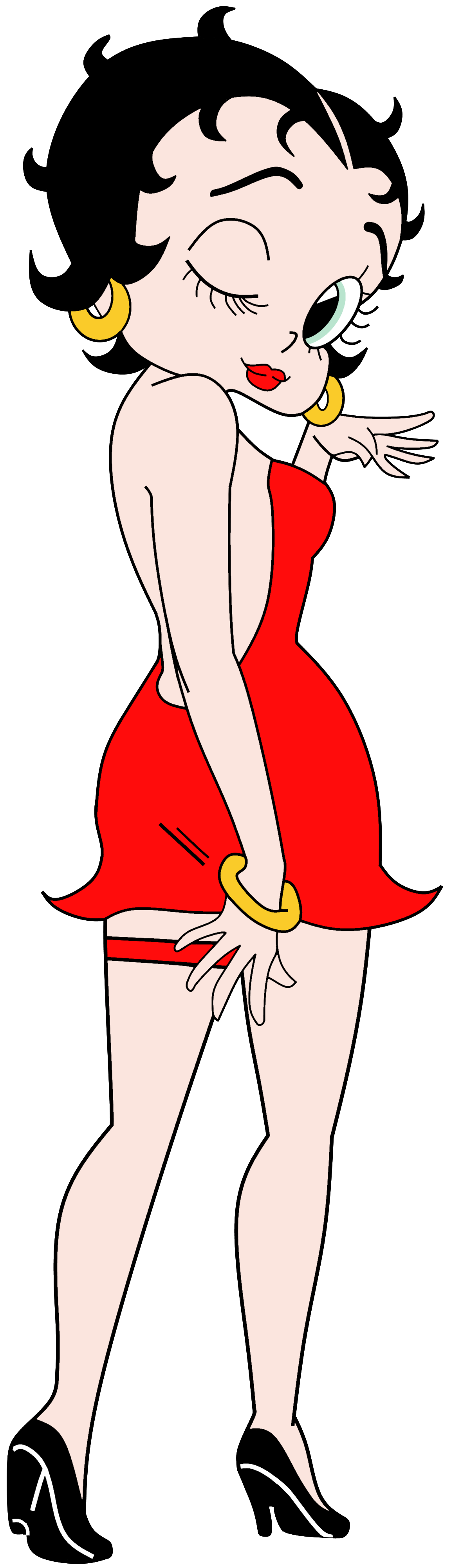 Betty Boop Anime Render.png