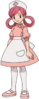 Nurse Joy BW