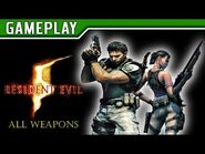 RESIDENT EVIL 5 - All Weapons (Todas as Armas)
