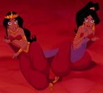 Badroulbadour and jasmine arabian princesses by glee chan-d8cdhfe