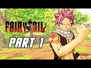 FAIRY TAIL - Full Game Gameplay Walkthrough Part 1 - First 4 Hours (PS4 PRO)