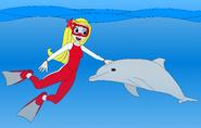 Heartfilia and the Dolphin