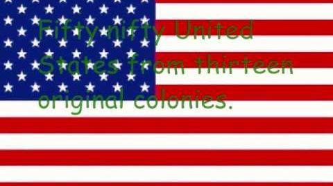 Fifty Nifty States - Lyrics