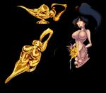 Souless genie - body lamp