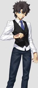 Ritsuka Fujimaru (Male) Wearing Anniversary Blonde Male Version