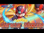 Zero (Z) 5* Character Showcase - Mega Man X DiVE