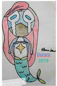 2019 Dororo as Ariel - cast.jpg