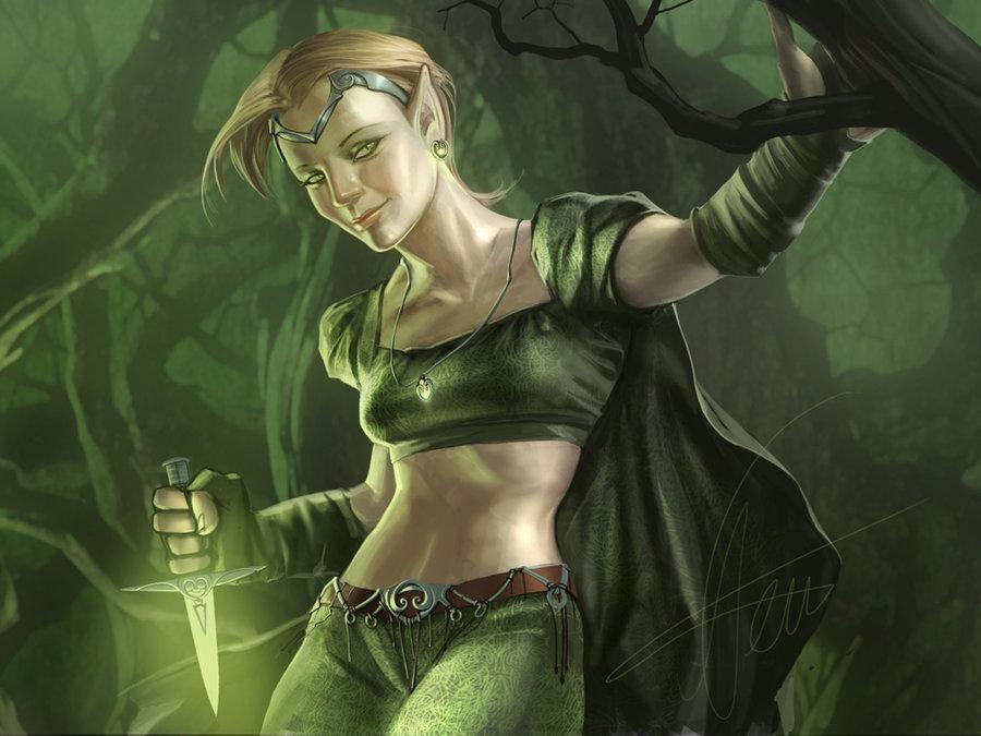 Cassie The Elf Warrior (TailsKid26's Universe)