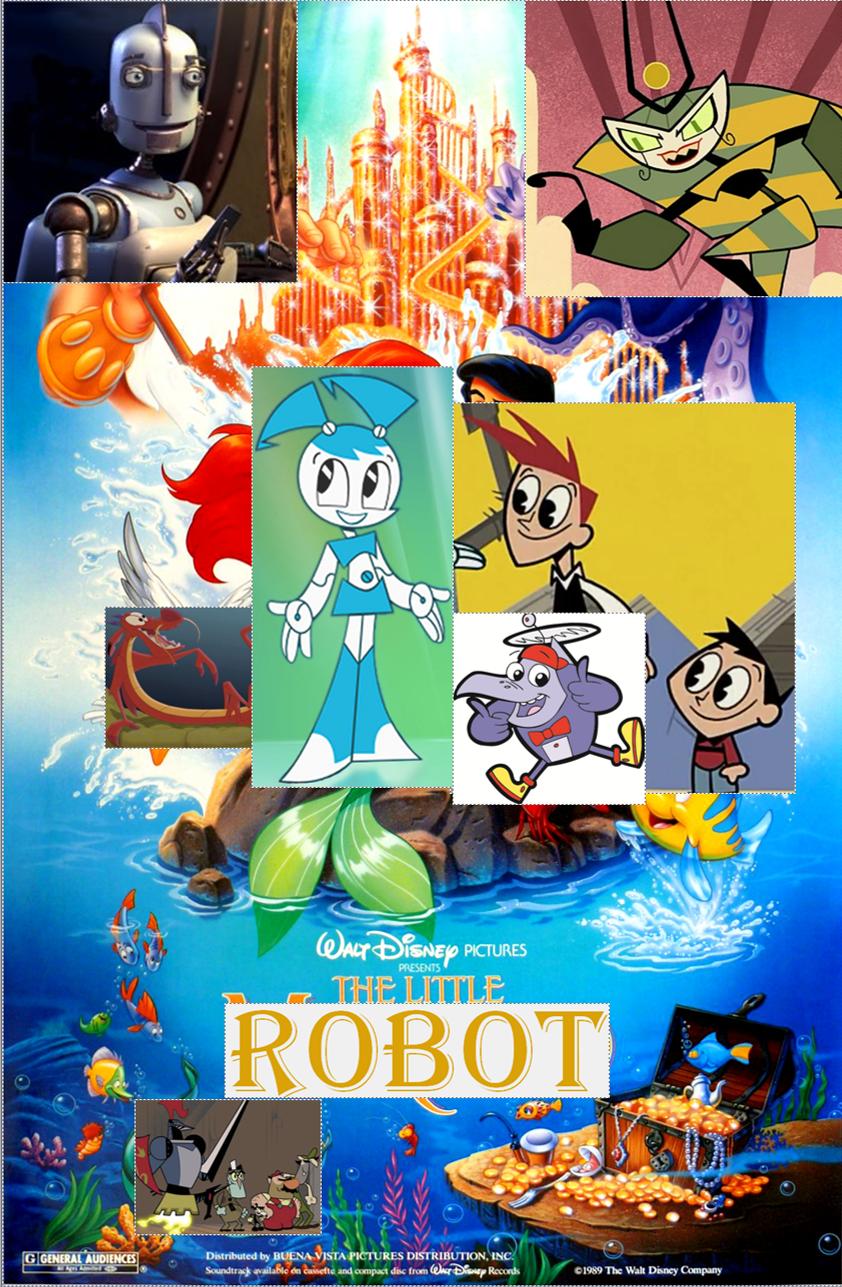 The Little Robot (Little Mermaid Parody)