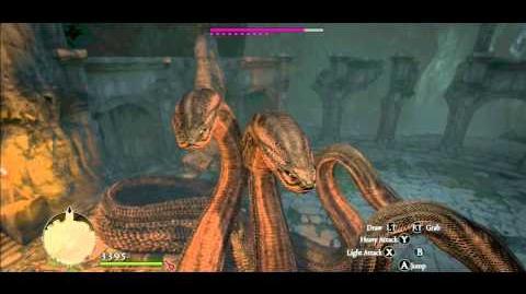 Dragon's Dogma Hydra Vore No Music 2