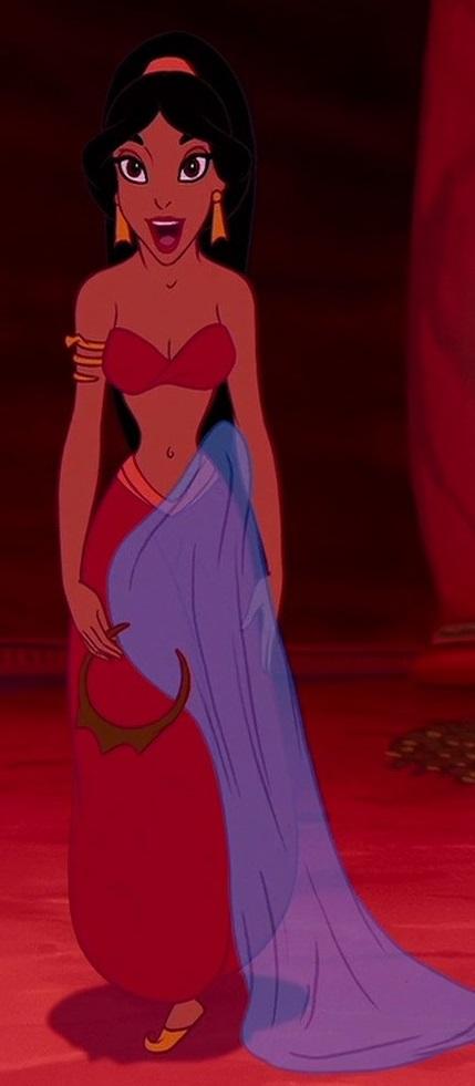 Princess Jasmine (Slave/Genie)