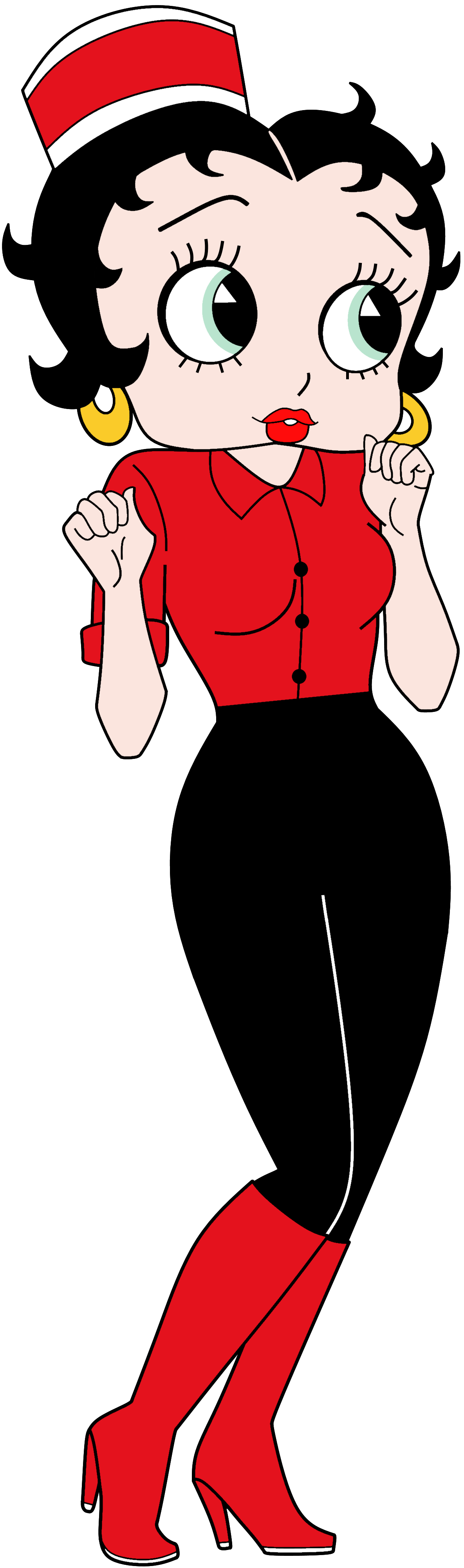 Betty Boop Anime Waitress Render.png