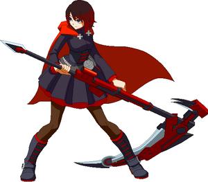 Ruby Rose BlazBlue Cross Tag Battle Ver