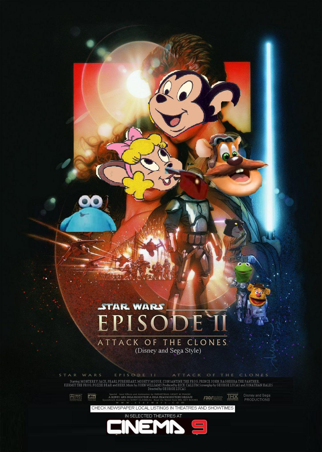 Star Wars Episode 2: Attack of the Clones (Disney and Sega Style)