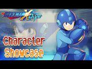 Mega Man Character Showcase - Mega Man X DiVE