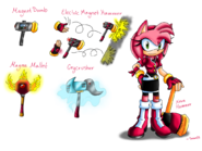 Amy rose sonic resistance by sonar15-db3f4ka