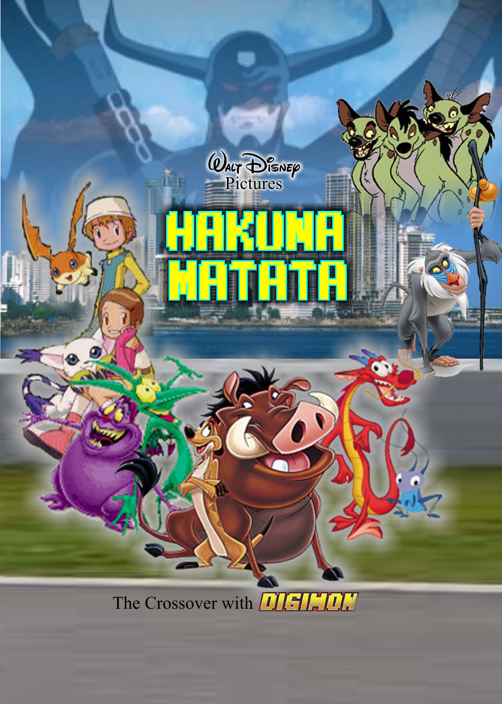 Disney's Hakuna Matata (in the crossover with Digimon)
