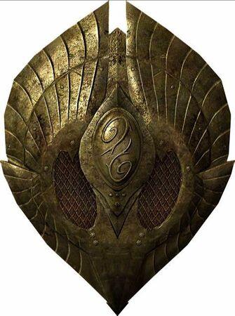 Elven Shield for Skyrim