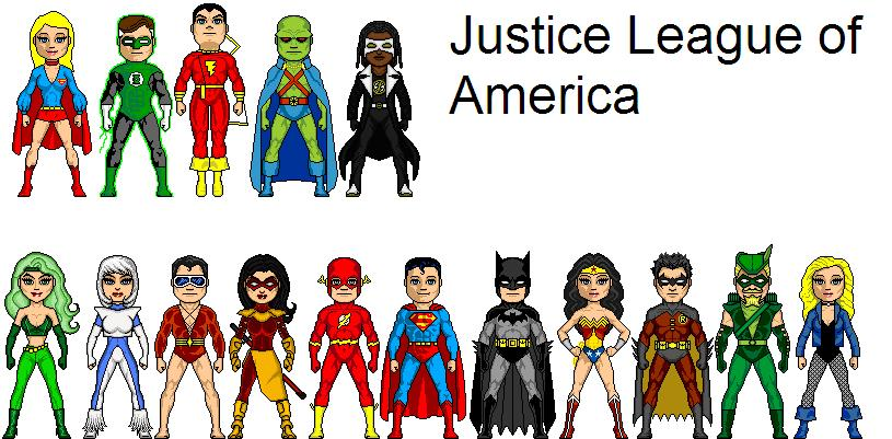 Justice League of America (Larry1996's TV Series)