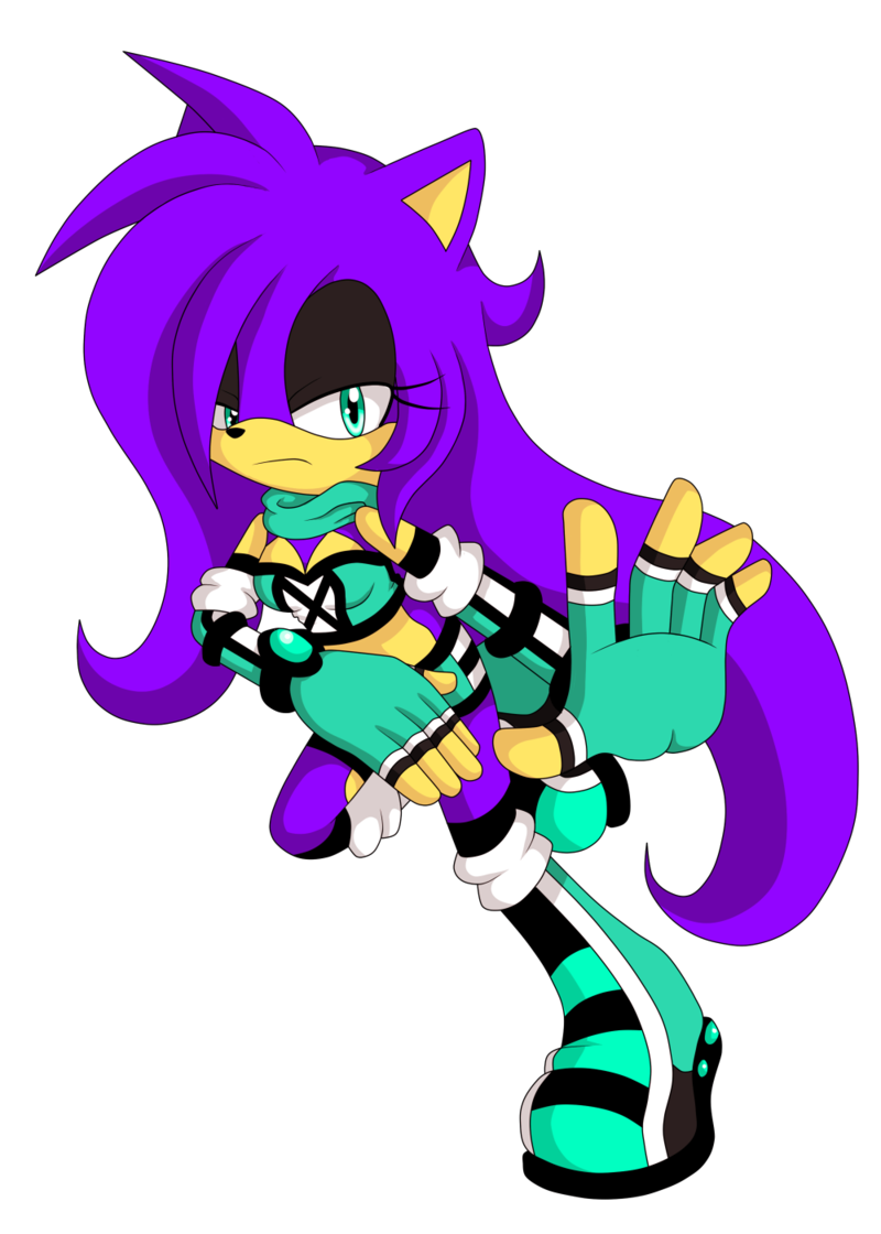 Rayna The Hedgehog (Fan Character)