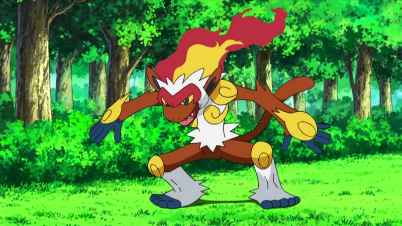 Carly's Infernape