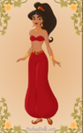Princess jasmine s slave girl by midnightroses888-d4rxwn8