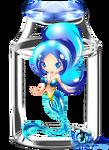 Chibi Crystal bottle