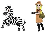 Heartfilia and the Zebra