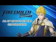 Fire Emblem Warriors- All of Rowan's Support Conversations