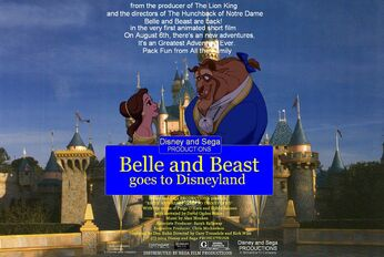 Belle and Beast goes to Disneyland Poster.jpg