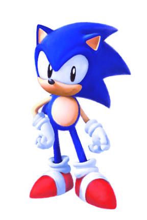 Classic Sonic The Hedgehog (Version 2)