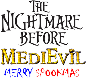 The Nightmare Before MediEvil Merry Spookmas logo.png