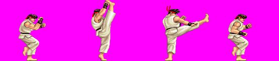 Ryu Heel Kick (SFII)