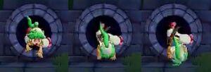 Asha Doing a Rolling Descent for Wonder Boy Ssha in Monster World (2)