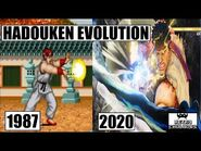 Hadouken Evolution 💨💥 Ryu Evolution 🥋 Street Fighter (1987 - 2020)