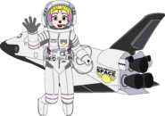 Heartfilia and the Exploration Space Ship