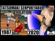 Tatsumaki Senpukyaku (Hurricane Kick) Evolution 💥 Ryu Evolution 🥋 Street Fighter (1987 - 2020)