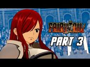 FAIRY TAIL - Full Game Gameplay Walkthrough Part 3 - Erza's 100 Monster Showdown (PS4 PRO)