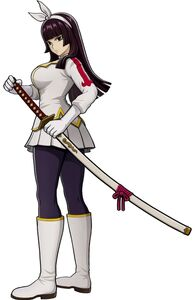 Kagura's appearance in Fairy Tail (Video Game)
