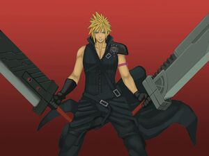 Cloud Strife Double Buster Sword