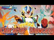 Second Armor X 5* Character Showcase - Mega Man X DiVE