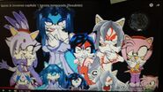 Blaze, Tsukuyomi, Amaterasu, Susanoo, Amy, Babies and Sonic's future kids