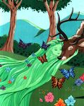 Fantasia 2000 forest sprite and elk close up by flapperfoxy debsbmd-fullview